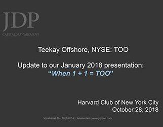 """Presentation Update """"When 1 + 1 = TOO"""""""