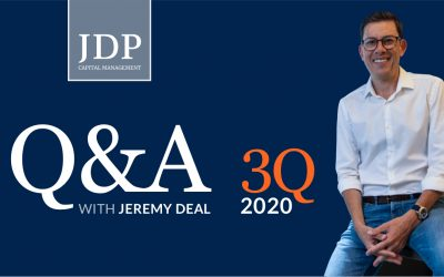 Q&A with Jeremy Deal | 3Q 2020