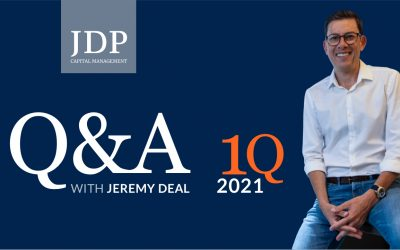 Q&A with Jeremy Deal | 1Q 2021