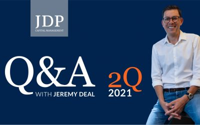 Q&A with Jeremy Deal   2Q 2021